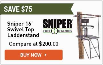 Sniper Swivel Top Ladder Stand