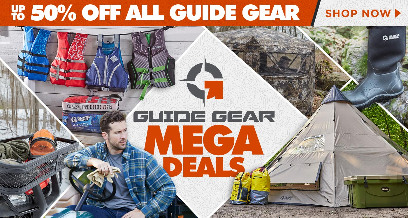 Guide Gear Mega Deals, Up to 50% Off All Guide Gear - Shop Now