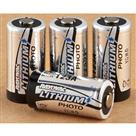 4 - Pk. Rayovac® CR123 Lithium Batteries