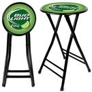 "2-Pk. of Bud Light Lime® 24"" Cushioned Stools"