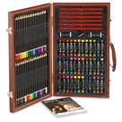 Art 101 106-Pc. Sketch Art Set with Wood Case