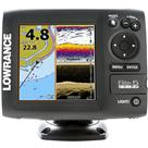 Lowrance Elite-5 CHIRP Fishfinder / Chartplotter Combo with 83 / 200/ 455 / 800kHz Transducer