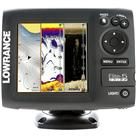 Lowrance Elite-5 CHIRP Fishfinder / Chartplotter Gold Combo with 83 / 200 / 455 / 800kHz Transducer & Map Bundle